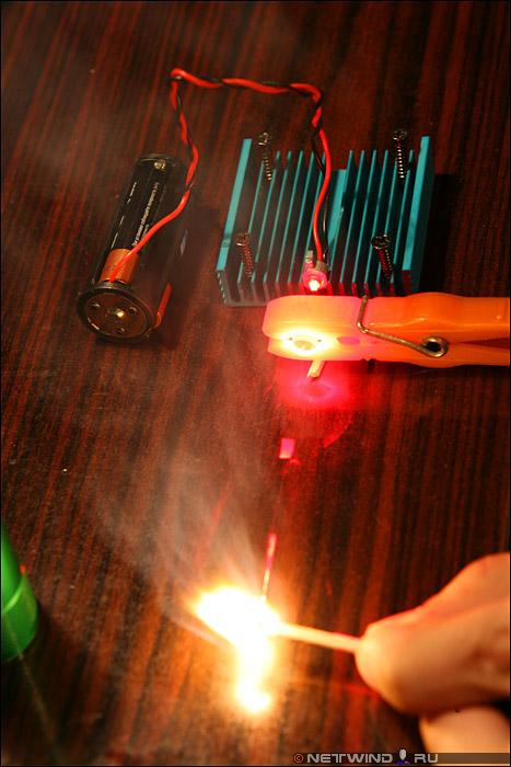 Как сделать лазер на фото 468